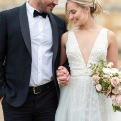 Romantic and classical wedding inspiration with stunning florals from Chiswick House