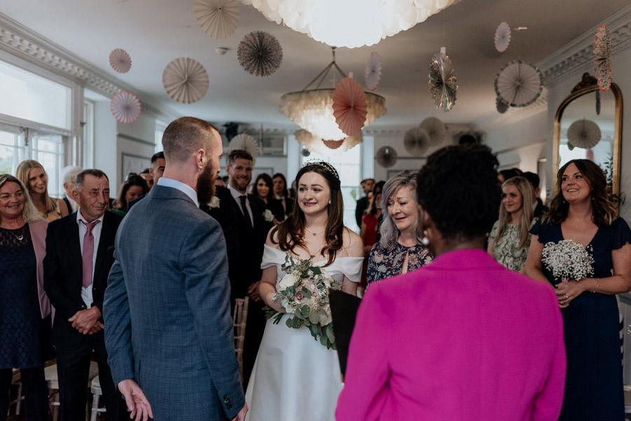Eleni and Shane's stunning Dulwich Village wedding, images by Emily Black Photography (31)