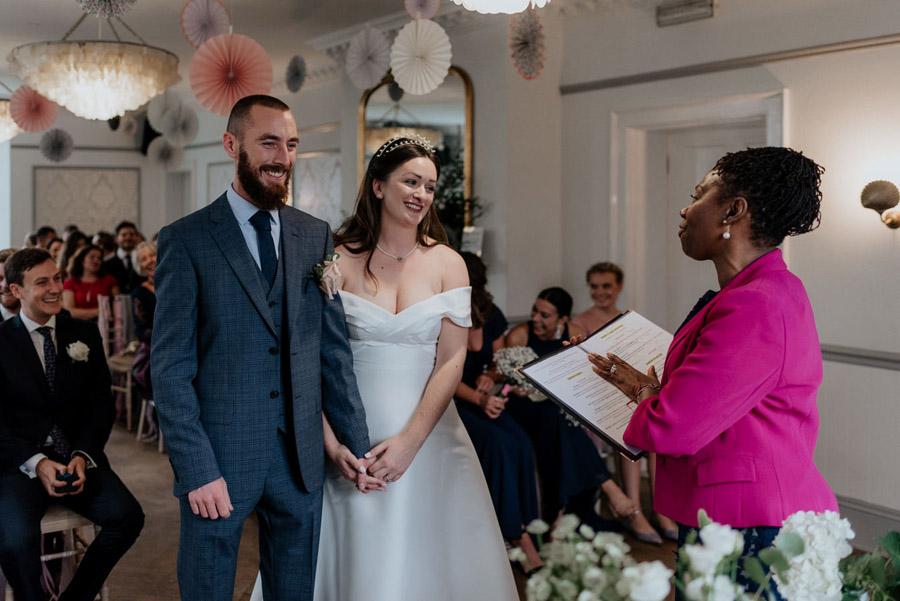 Eleni and Shane's stunning Dulwich Village wedding, images by Emily Black Photography (32)