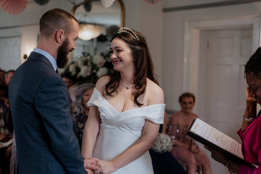 Eleni and Shane's stunning Dulwich Village wedding, images by Emily Black Photography (33)