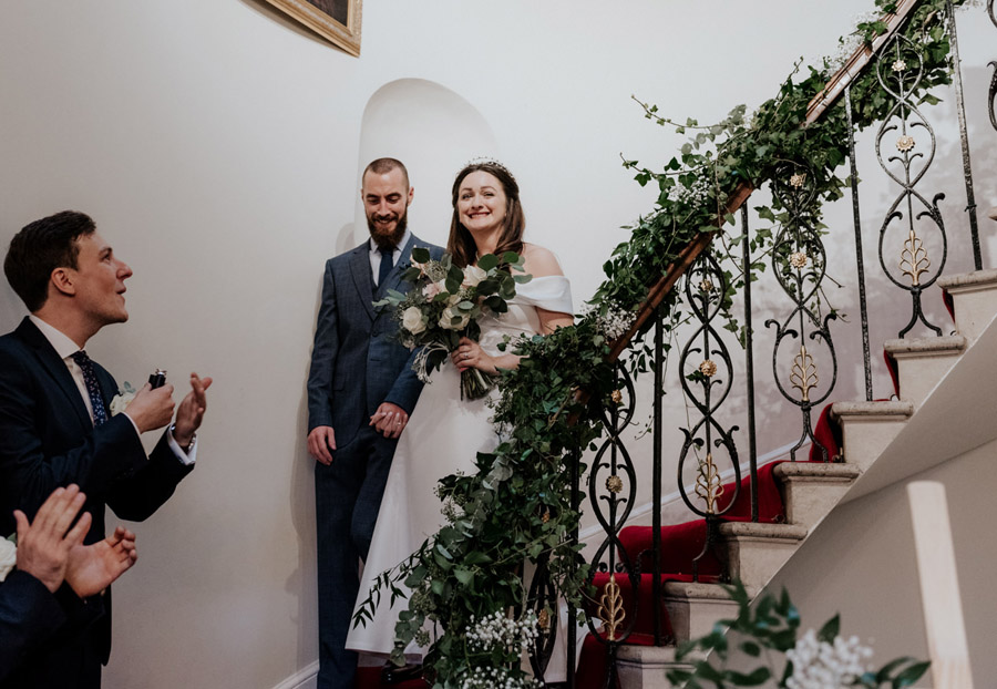 Eleni and Shane's stunning Dulwich Village wedding, images by Emily Black Photography (34)