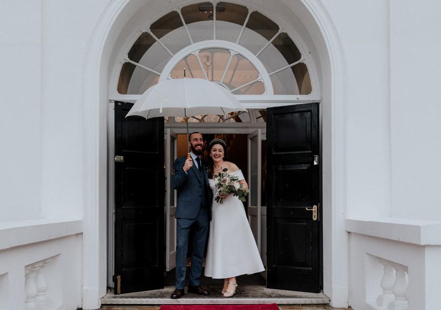 Eleni and Shane's stunning Dulwich Village wedding, images by Emily Black Photography (38)