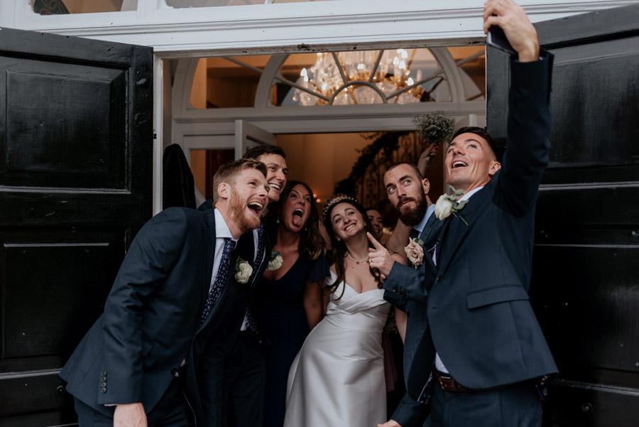 Eleni and Shane's stunning Dulwich Village wedding, images by Emily Black Photography (43)