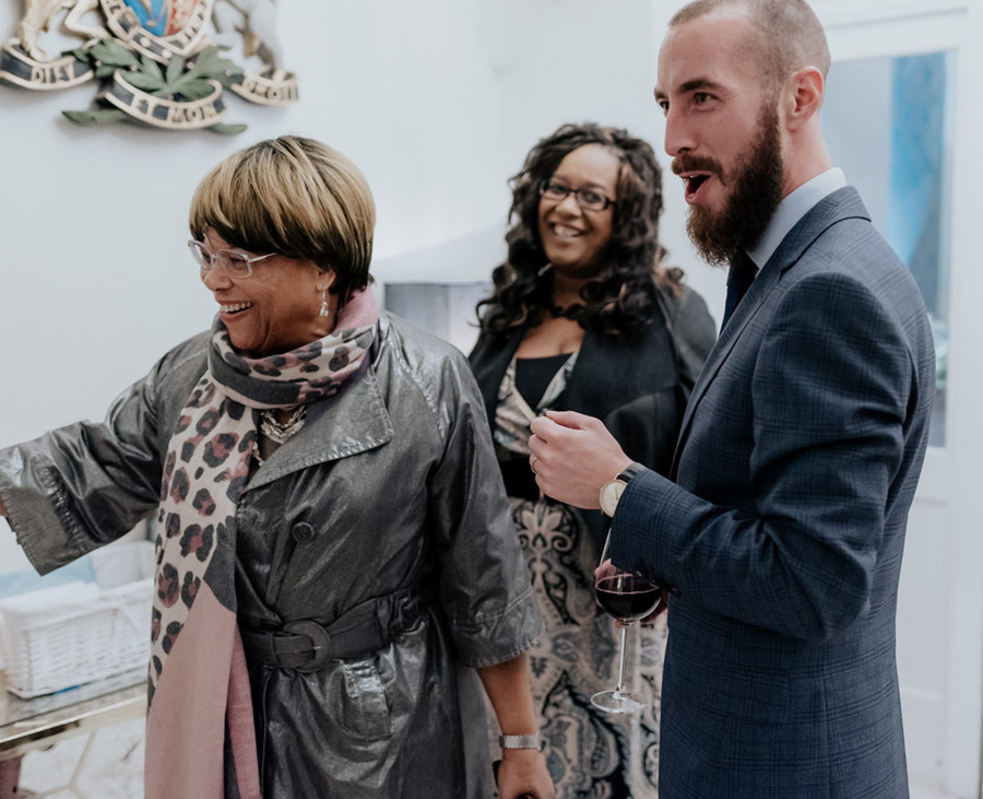 Eleni and Shane's stunning Dulwich Village wedding, images by Emily Black Photography (50)