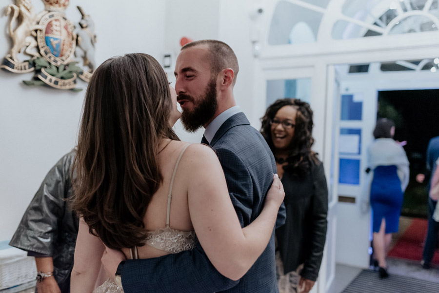 Eleni and Shane's stunning Dulwich Village wedding, images by Emily Black Photography (51)
