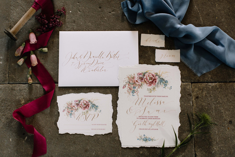 All the summer florals for a romantic summer wedding, image credit Rebecca Goddard Photography (38)
