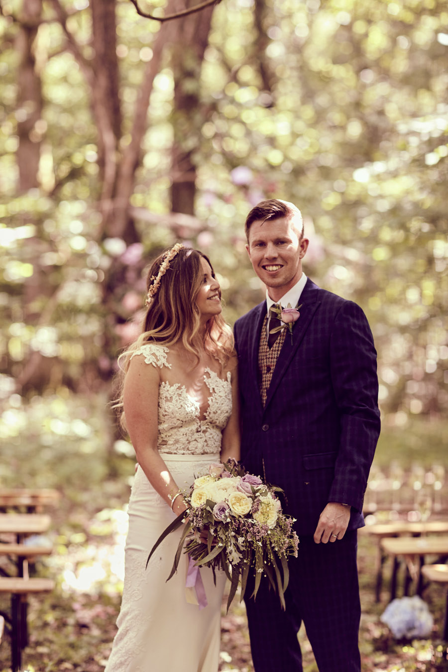 Styled woodland wedding in Sussex, image credit Something Blue Weddings (11)