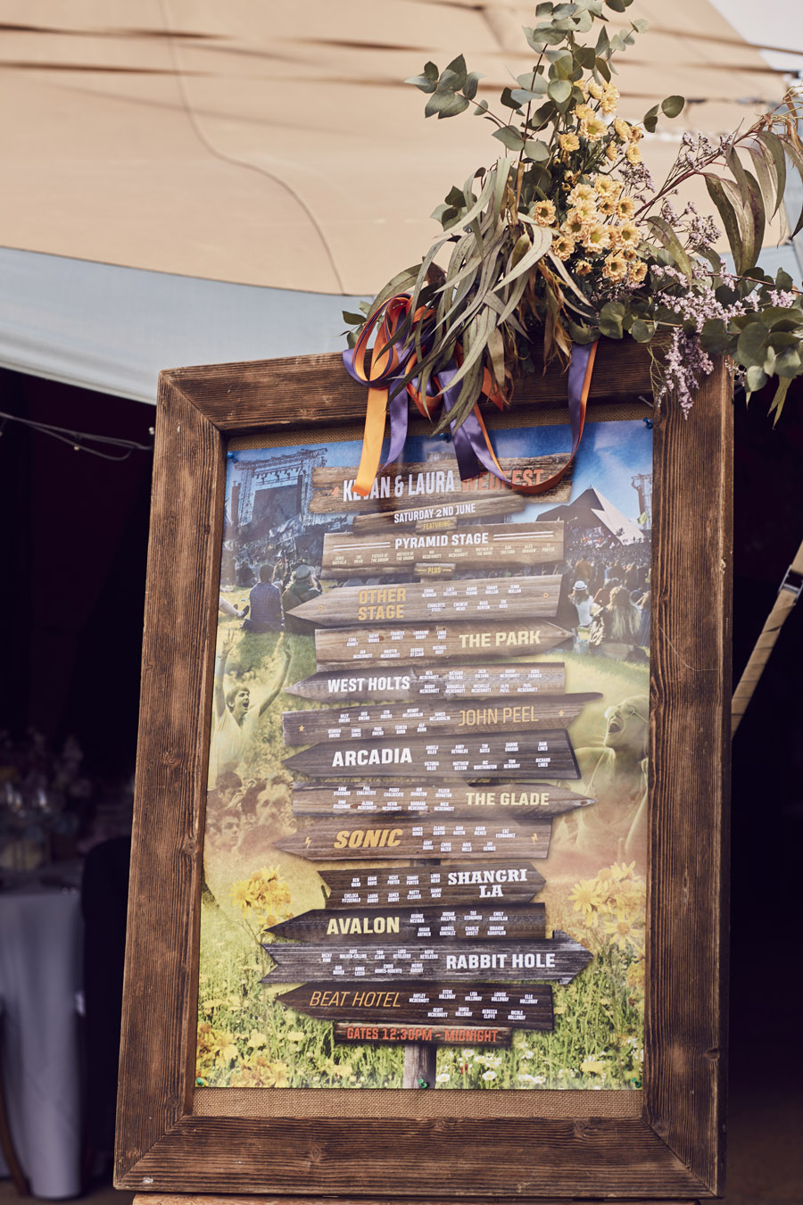 Styled woodland wedding in Sussex, image credit Something Blue Weddings (29)