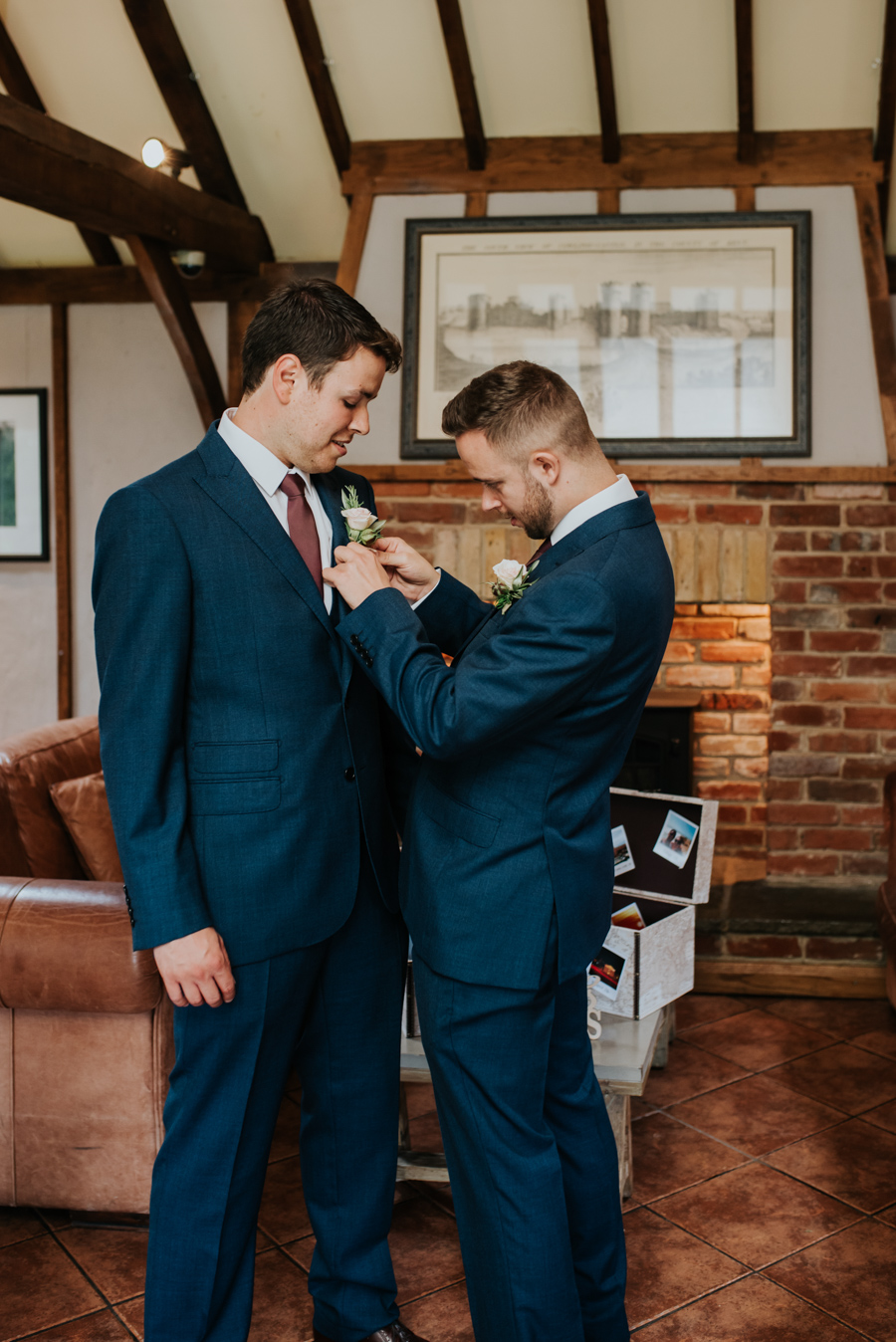 Becky and Martin's Cooling Castle wedding, images by Michelle Cordner Photography (13)