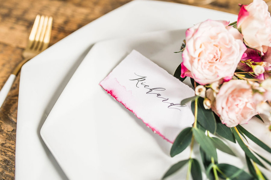 Modern luxe wedding style ideas with images by Laura Jane Photography (29)