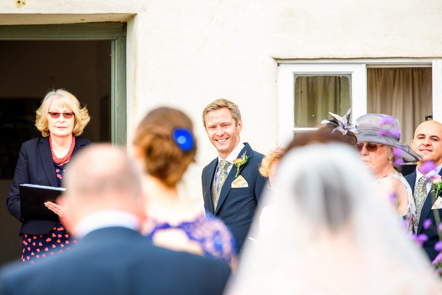 Colourful bunting for a summer wedding at River Cottage, images by Spencer White Photography (21)