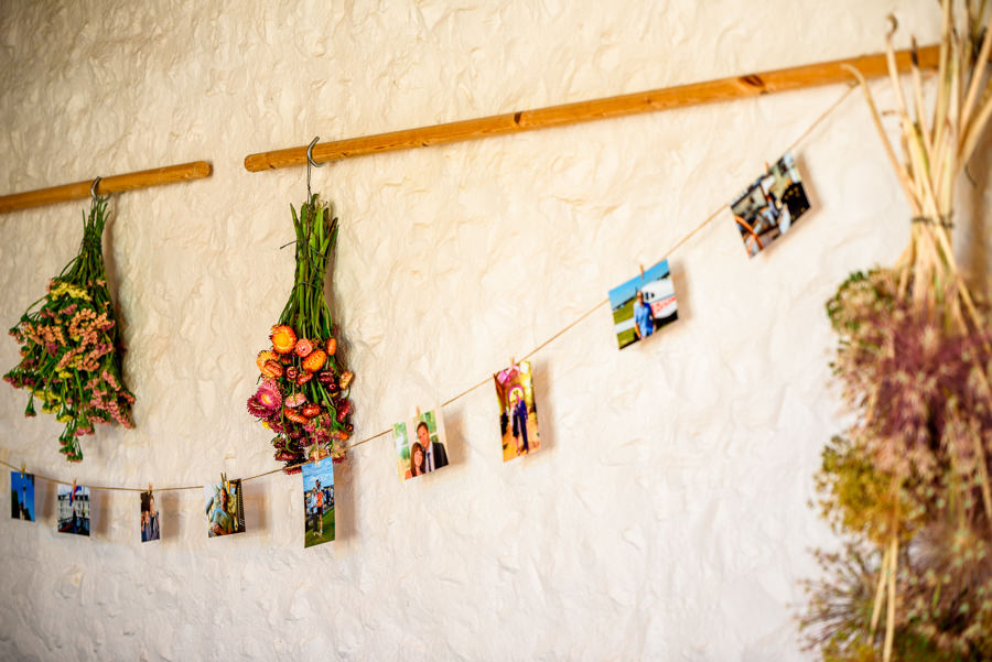 Colourful bunting for a summer wedding at River Cottage, images by Spencer White Photography (29)