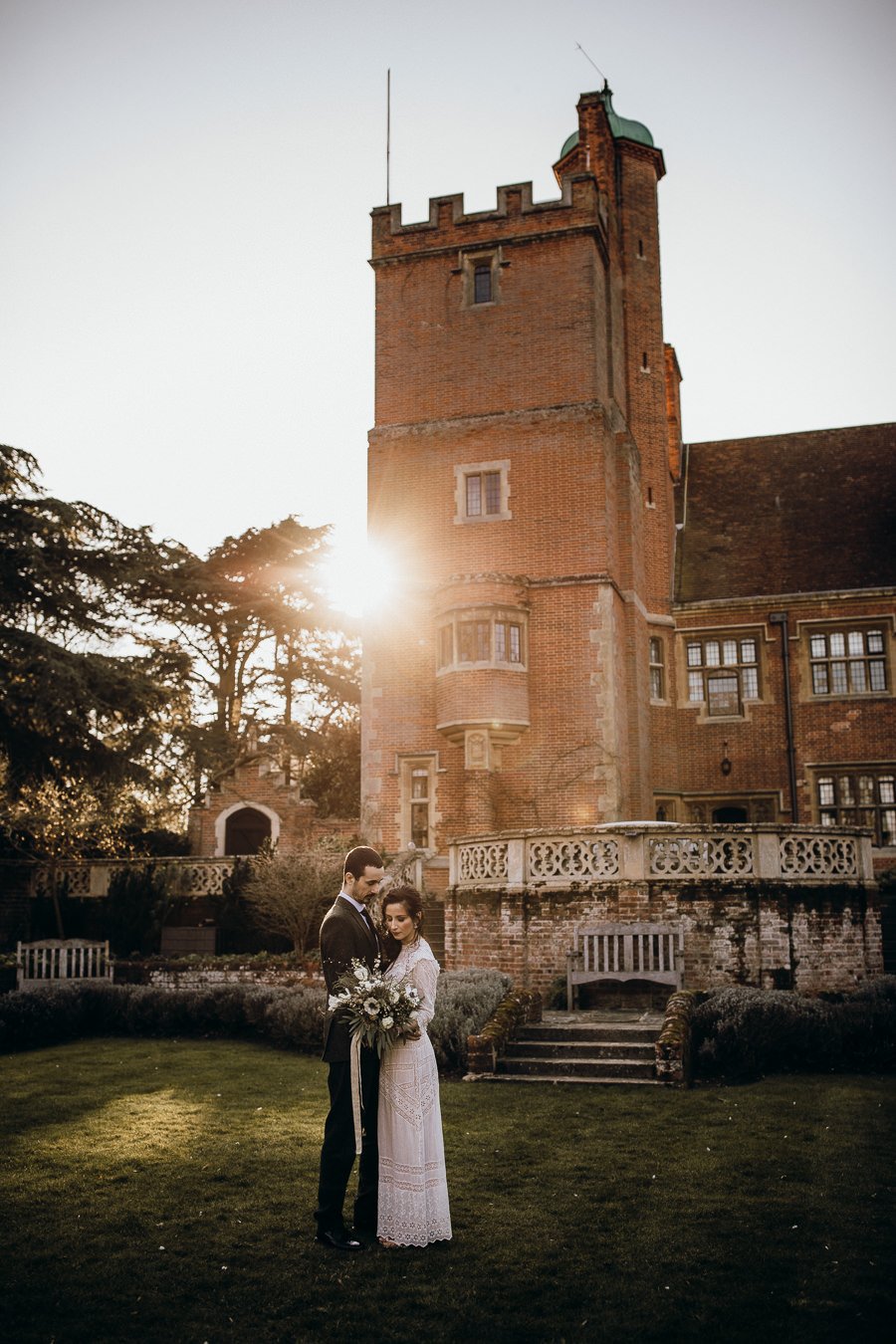 Heirloom wedding style inspiration at Lanwades Hall with Thyme Lane Photography (39)