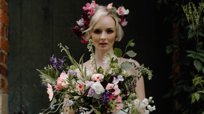 All the summer florals for a romantic summer wedding, image credit Rebecca Goddard Photography (28)
