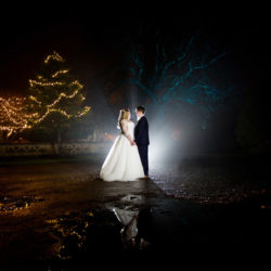 Izzy and Tom's perfect December wedding at Tortworth Court, with Martin Dabek Photography
