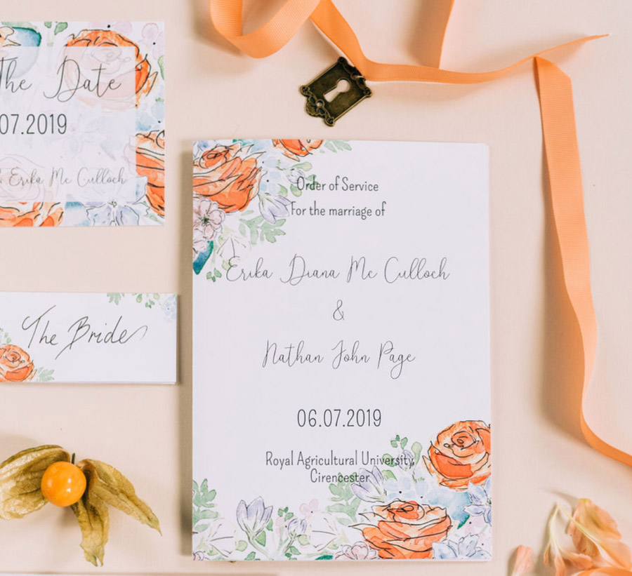 coral and neutral colour palette for a stunning wedding look with Corky and Prince, image credit Rachel Jane Photography (12)