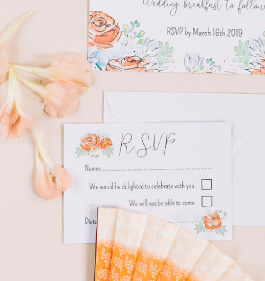 coral and neutral colour palette for a stunning wedding look with Corky and Prince, image credit Rachel Jane Photography (13)