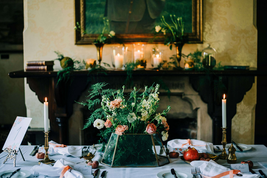 coral and neutral colour palette for a stunning wedding look with Corky and Prince, image credit Rachel Jane Photography (30)