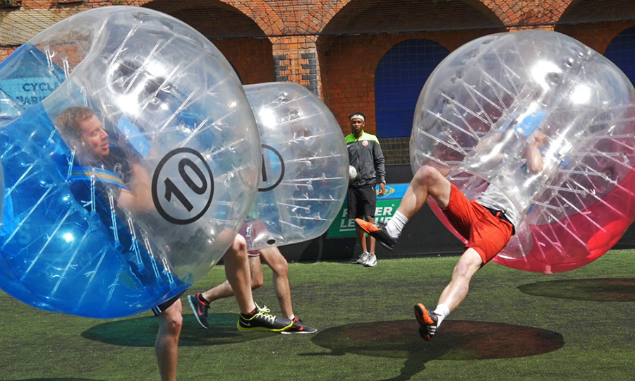 Make your own pop video, get pampered or tackle a hill in a bubble. Stag & Hen ideas with Adventure Connections (2)