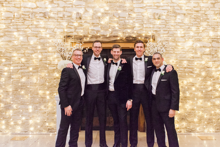 A super elegant black tie wedding in winter, photographed by Amanda Karen Photography (21)