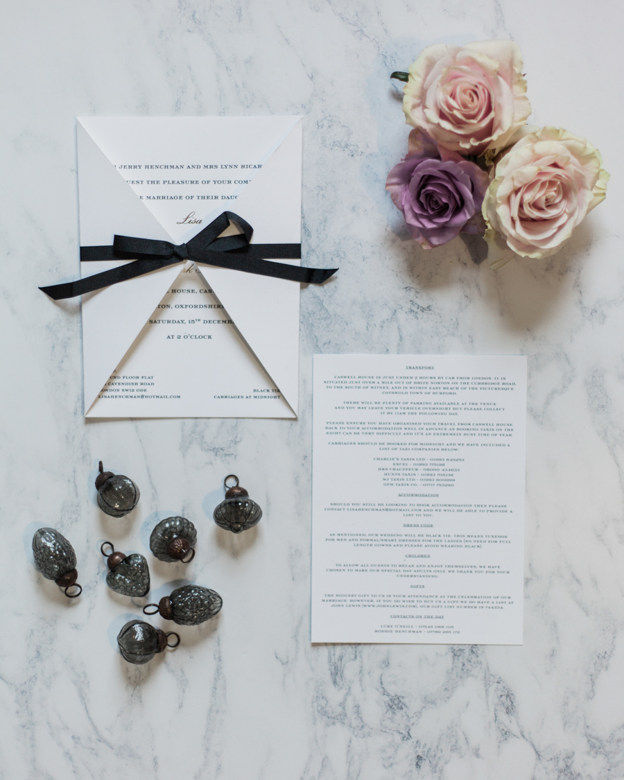 A super elegant black tie wedding in winter, photographed by Amanda Karen Photography (38)