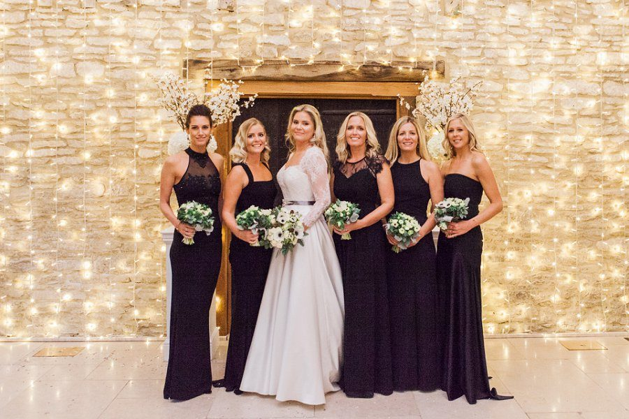Bridesmaids at Caswell House