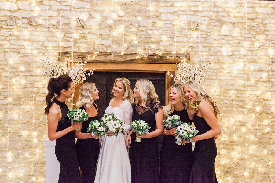 Bridesmaids at Caswell House by Amanda Karen Photography