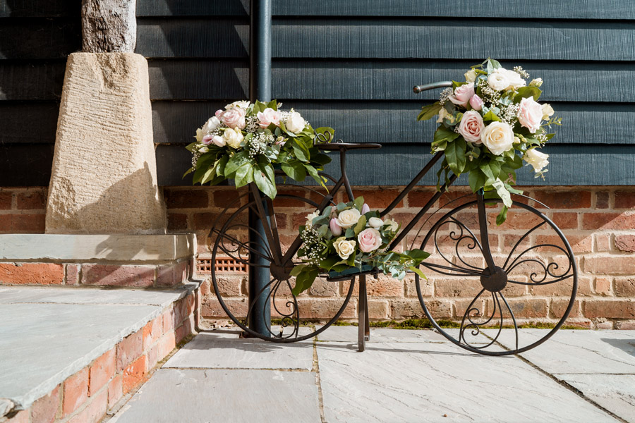 Sarah & Rob's relaxed and romantic English barn wedding at Micklefield, photo credit Damion Mower Photography (45)