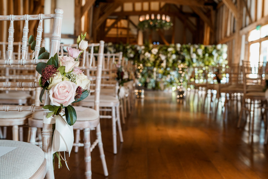 Sarah & Rob's relaxed and romantic English barn wedding at Micklefield, photo credit Damion Mower Photography (47)