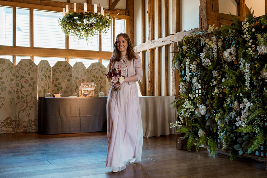 Sarah & Rob's relaxed and romantic English barn wedding at Micklefield, photo credit Damion Mower Photography (48)