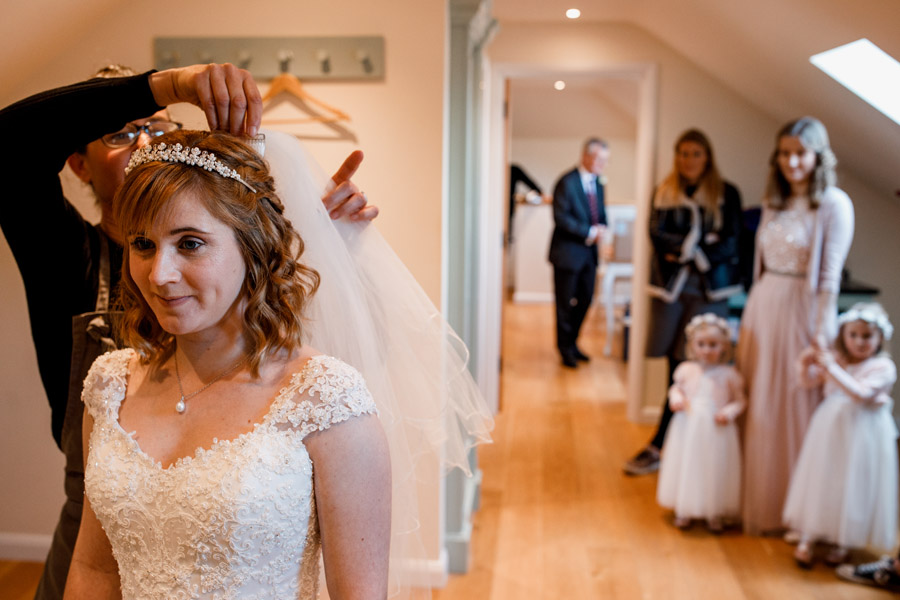 Sarah & Rob's relaxed and romantic English barn wedding at Micklefield, photo credit Damion Mower Photography (2)
