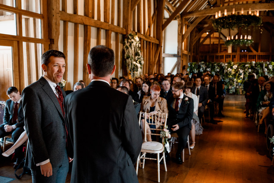 Sarah & Rob's relaxed and romantic English barn wedding at Micklefield, photo credit Damion Mower Photography (1)