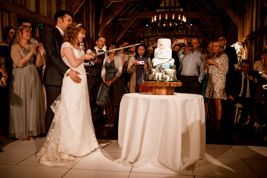 Sarah & Rob's relaxed and romantic English barn wedding at Micklefield, photo credit Damion Mower Photography (11)