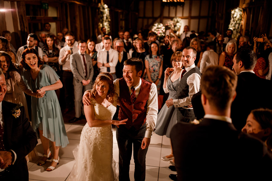 Sarah & Rob's relaxed and romantic English barn wedding at Micklefield, photo credit Damion Mower Photography (12)