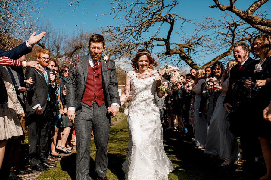 Sarah & Rob's relaxed and romantic English barn wedding at Micklefield, photo credit Damion Mower Photography (13)