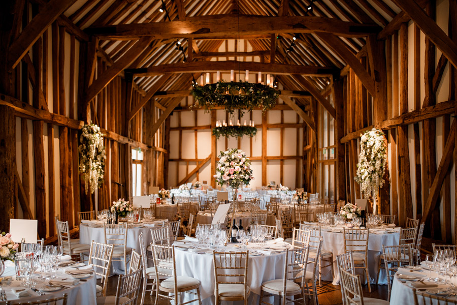Sarah & Rob's relaxed and romantic English barn wedding at Micklefield, photo credit Damion Mower Photography (22)