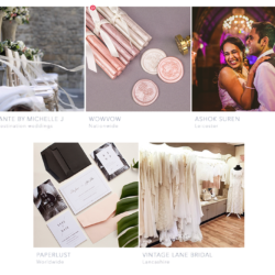 New in the English Wedding directory – April 2019