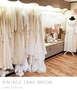 vintage wedding dresses uk buy online based in Lancashire