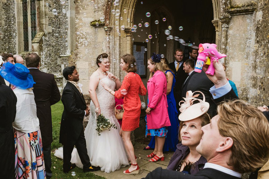 Caroline and Sid's brilliantly fun party wedding at Barn Drift, image credit York Place Studios (1)