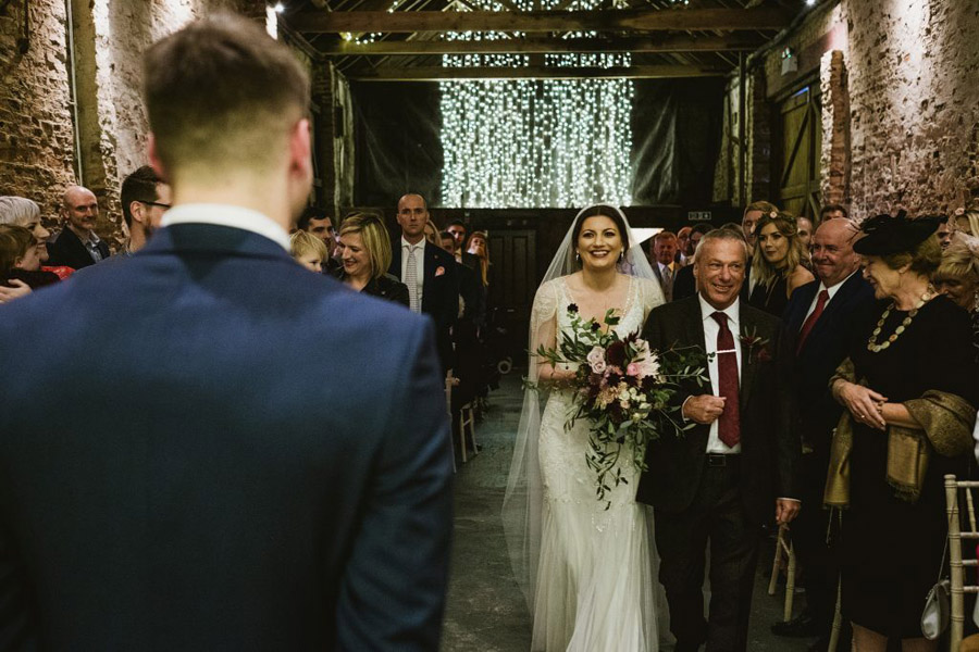 Twinkly beautiful York wedding blog with Jo & Oli at The Normans. Image credit York Place Studios (8)