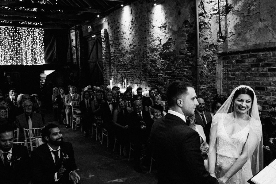 Twinkly beautiful York wedding blog with Jo & Oli at The Normans. Image credit York Place Studios (11)