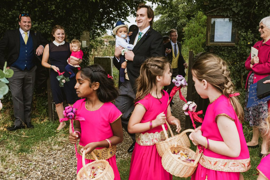 Caroline and Sid's brilliantly fun party wedding at Barn Drift, image credit York Place Studios (15)