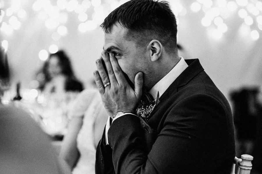 Twinkly beautiful York wedding blog with Jo & Oli at The Normans. Image credit York Place Studios (19)