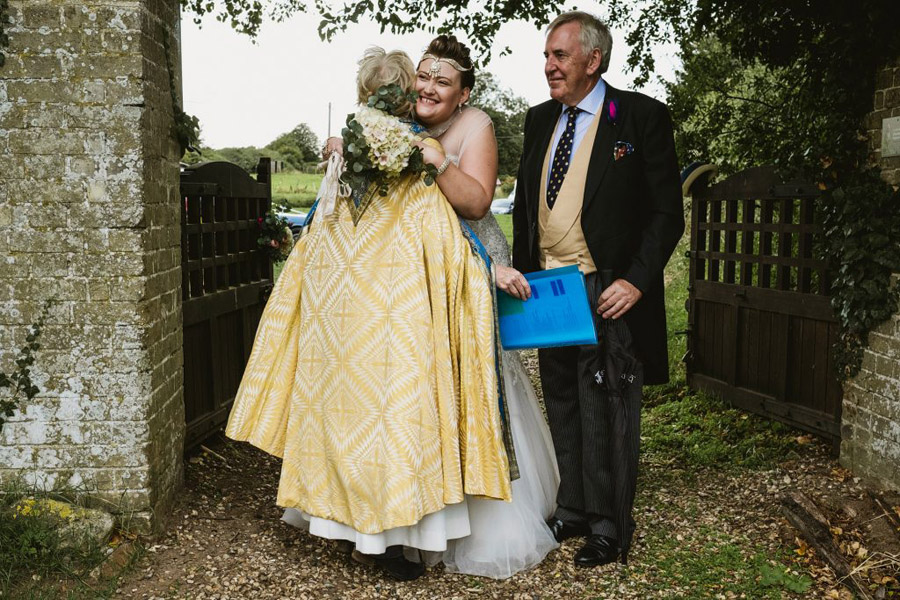Caroline and Sid's brilliantly fun party wedding at Barn Drift, image credit York Place Studios (16)