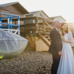 Kat and Matt's gorgeous and fun wedding at East Quay, Whitstable – with York Place Studios