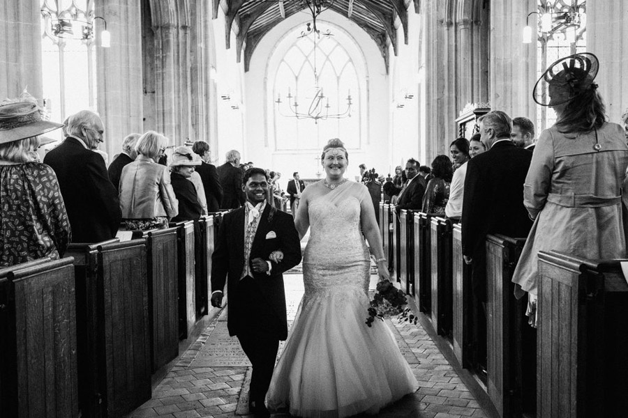 Caroline and Sid's brilliantly fun party wedding at Barn Drift, image credit York Place Studios (20)