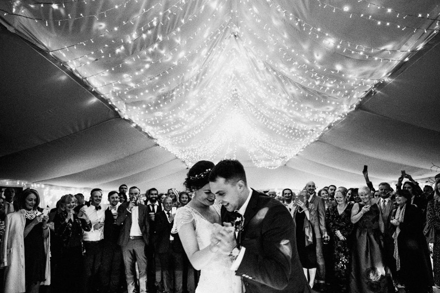 Twinkly beautiful York wedding blog with Jo & Oli at The Normans. Image credit York Place Studios (27)