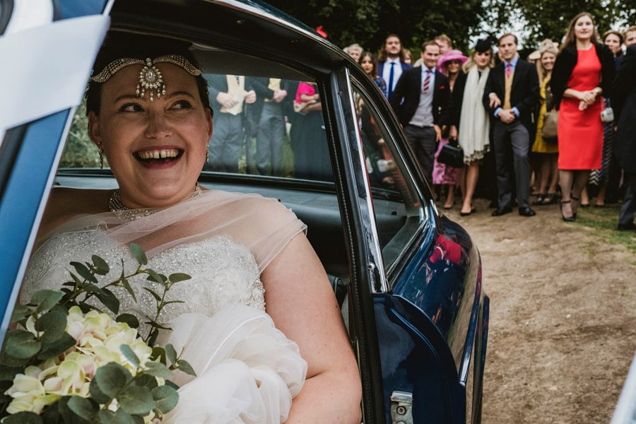 Caroline and Sid's brilliantly fun party wedding at Barn Drift, image credit York Place Studios (24)