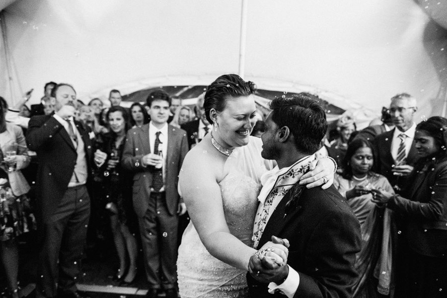 Caroline and Sid's brilliantly fun party wedding at Barn Drift, image credit York Place Studios (37)