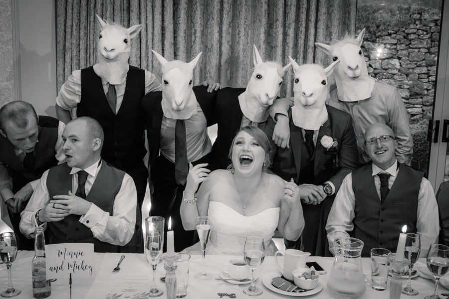 wedding photography with a sense of humour! Photo by (3)